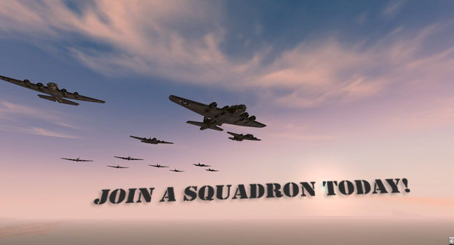 Join a Squadron Today